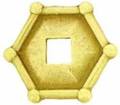 Picture of Backplate - Hexagonal Flat Plate