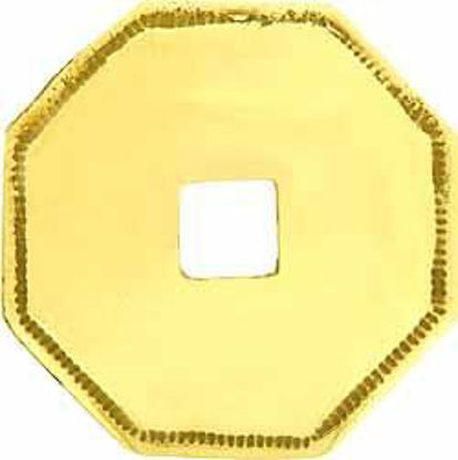 Picture of Backplate - Plain Octagonal Convex