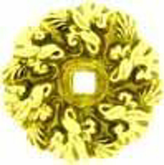 Picture of Backplate - Raised Large Petal