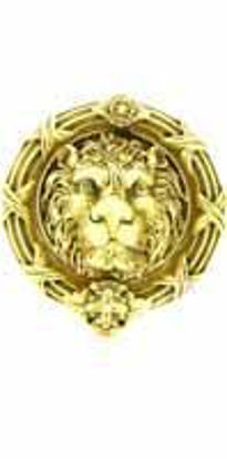 Picture of Door Knocker - Lion mask - Very large