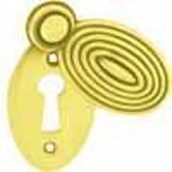 Picture of Escutcheon - Oval - Beehive