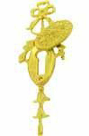 Picture of Escutcheon - Pierced Ribbon Decoration