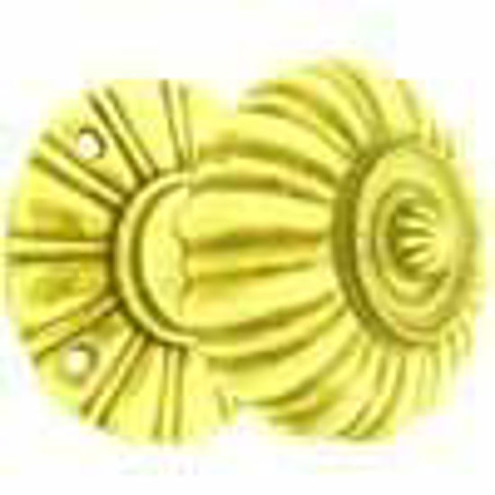 Picture of Knob - Round - Reeded