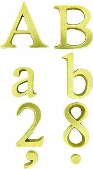 Picture of Alphabet Letters & Numbers