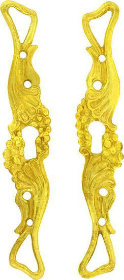 Picture of Escutcheons - Long Art Nouveau