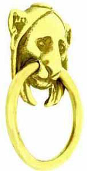 Picture of Handle - Ring - Lion Mask