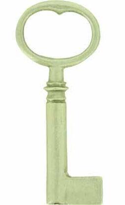 Picture of Key Blank - Steel - Kidney Bow Head